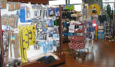Intérieur du magasin comptoir de la mer - La Turballe