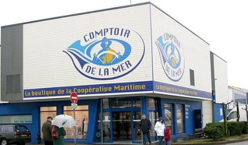 Magasin Comptoir de la mer à Le Guilvinec - Finistère