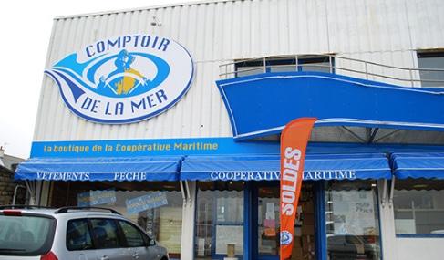 Magasin Comptoir de la mer à Lesconil - Finistère