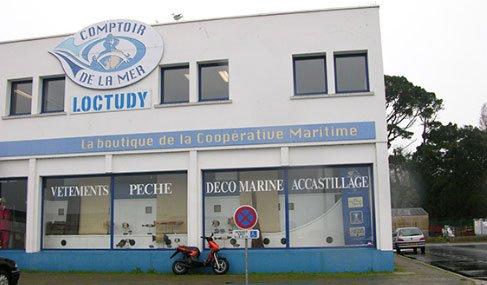 Magasin Comptoir de la mer à Loctudy