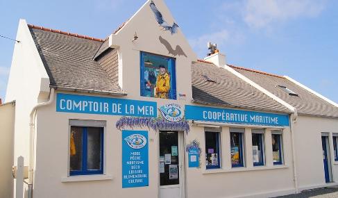 Magasin Comptoir de la mer à Plougasnou - Finistère