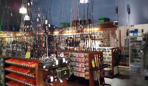 Intérieur du magasin Comptoir de la mer à Pornic