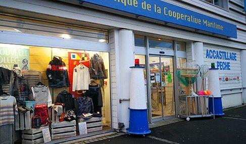 Port-en-Bessin façade
