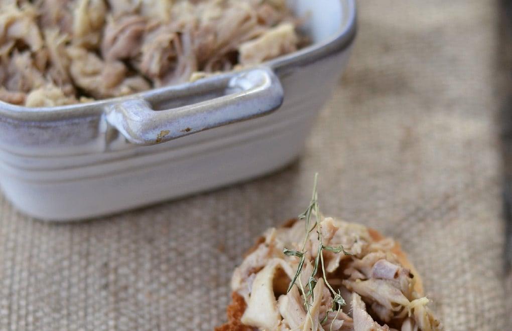 recettes - rilletes à tartiner