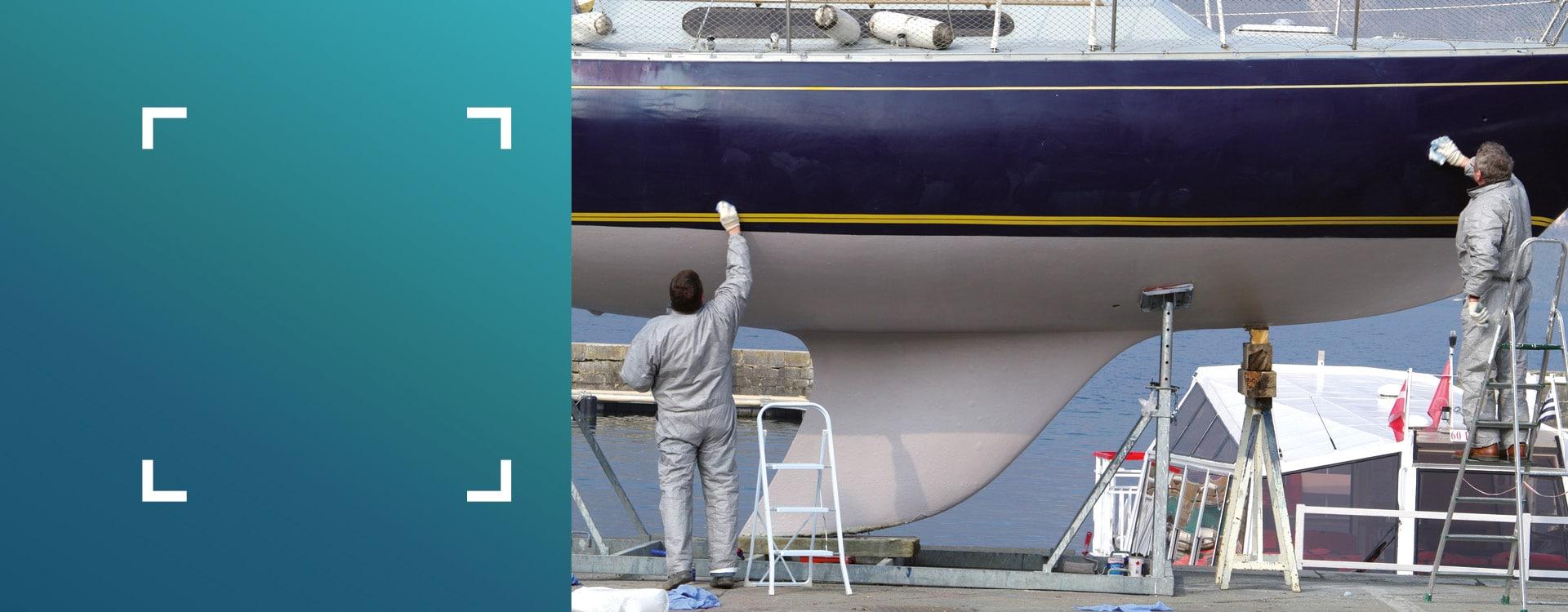 slide conseils d'expert - nautisme repeindre un bateau