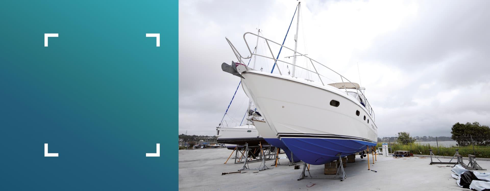 slide conseils d'expert - nautisme appliquer une résine sur une coque de bateau