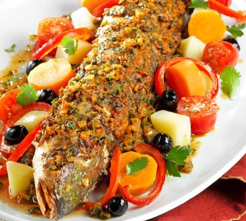 Recette comptoir de la mer Avril 2017 - Mulet sauce chermoula à la Marocaine