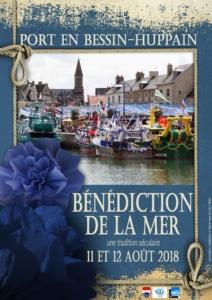 Bénédiction de la mer - Port-en-Bessin-Huppain - affiche