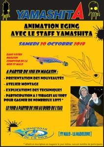 affiche - animation eging St-Malo 20 octobre 2018