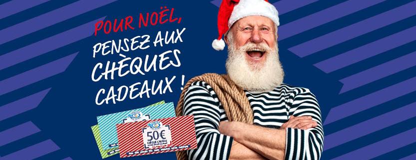 Noël : offrez des chèques cadeaux Comptoir de la mer