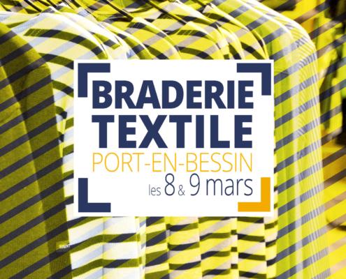 Braderie textile - Port-en-Bessin