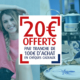 20 euros offerts