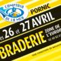 Les 26 et 27 avril, braderie à Pornic !