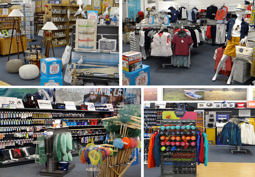 Gujan Mestras - nouveau magasin Comptoir de la mer