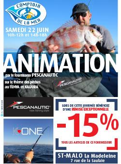 affiche animation pêche St Malo