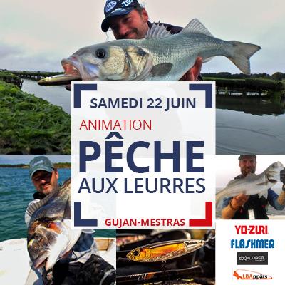 Gujan - Pêche aux leurres