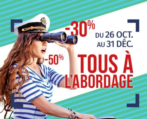 Comptoir de la mer Quiberon : destockage avant transfert du magasin