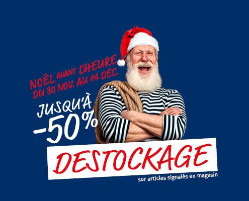 Desotckage - magasins 44