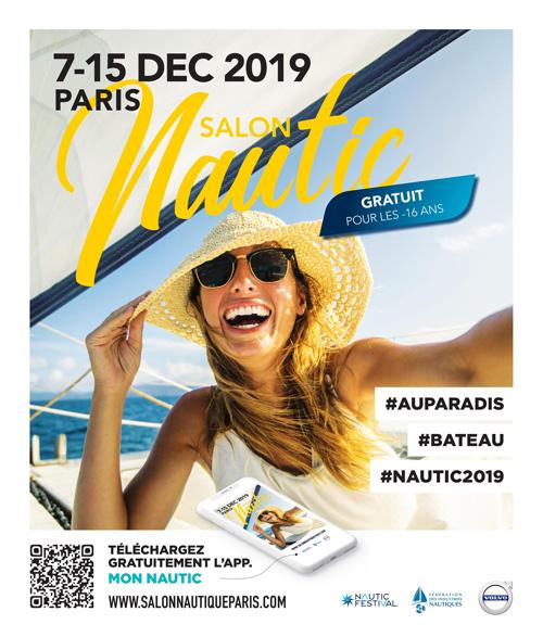 Salon nautique Paris 2019