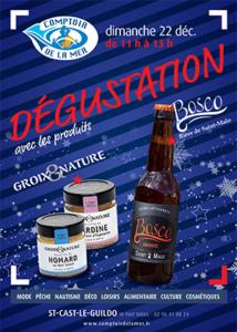 Saint-Cast dégustation de bières et de rillettes