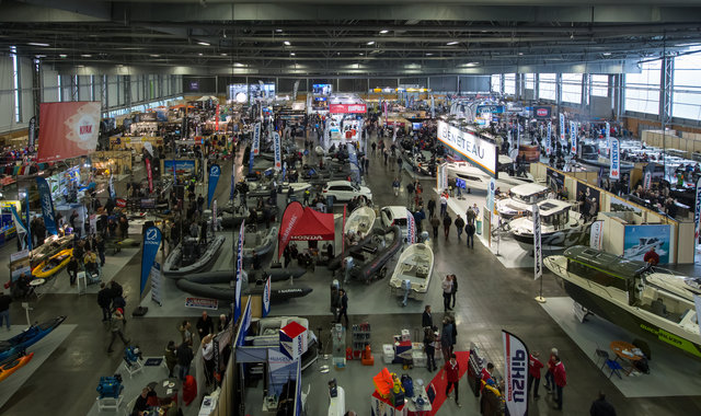 Salon de la pêche en mer : hell d'expositions
