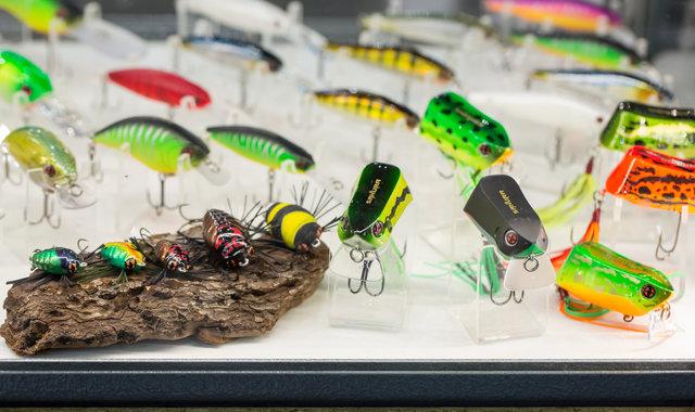 Salon de la pêche en mer : leurres