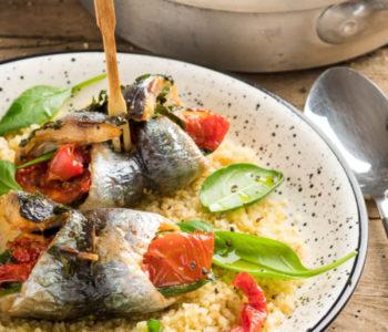 recette - filets de sardines