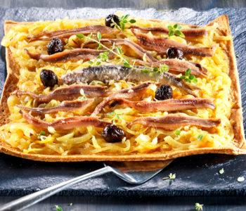 recette 2020 juillet - pissaladière aux anchois