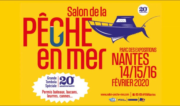 salon de la pêche Nantes - 2020
