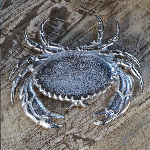 Dessous de plat nickel Crabe