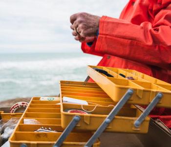 accessoires pour la pêche en mer