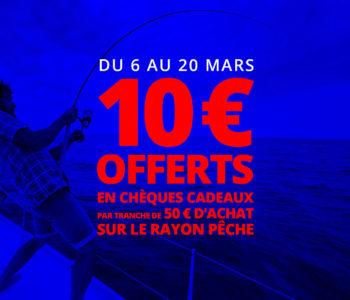 Quinzaine de la pêche du 6 au 20 mars