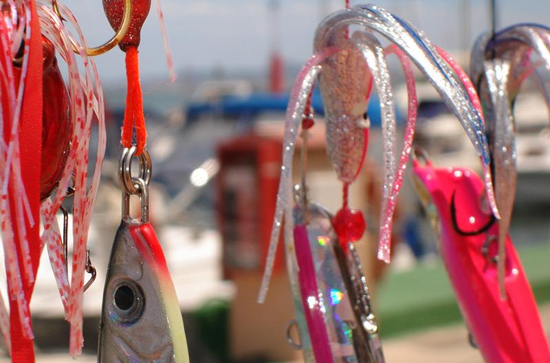jigs pour la pêche au lieu jaune