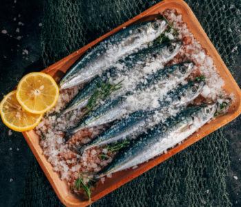 photographie illustrant des sardines cuisinées
