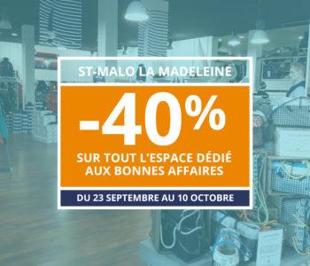 -40% St Malo Bonnes affaires